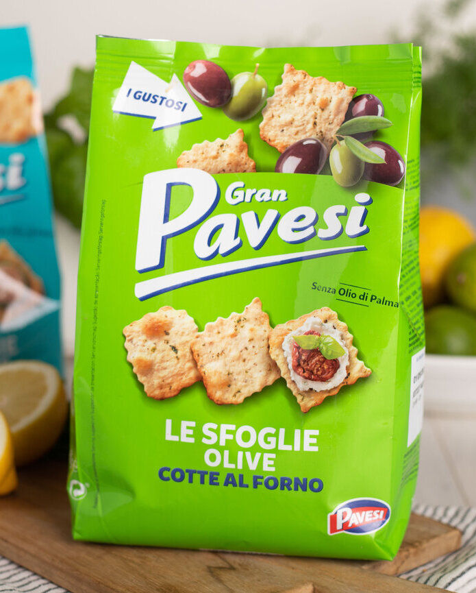 Gran Pavesi Crackers Olive